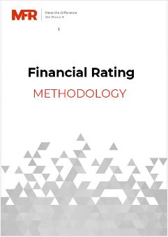 MFR Financial Rating methodology