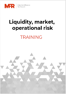 Liquidity, market, operational risk