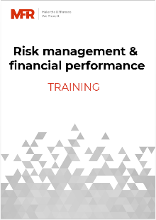Risk management and financial performance